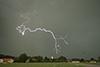 Zeitlupe Blitzeinschlag